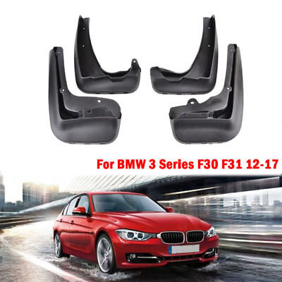 Genuine For BMW 2012-2017 F30 F31 3 Series Mud Flaps Set Rear and Front