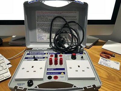 Transmille 2080 Electricians Test Box
