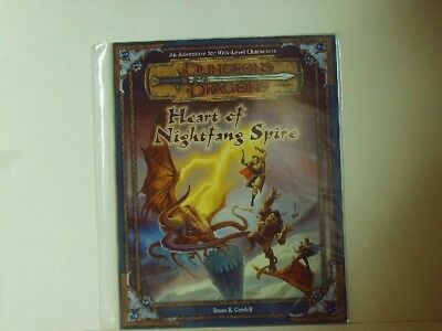 D&D * Heart of the Nightfang Spire - Adv. for 10th-Leve