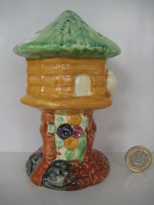Vintage Shorter And Sons Bird Table Hat Pin Holder Sugar Shaker Sifter Dove Cote