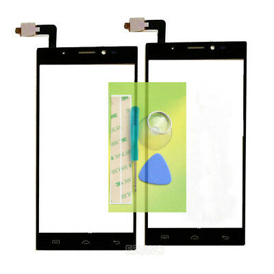 New Touch Screen Digitizer Glass Panel For Doogee F5+Tools+3M Tape