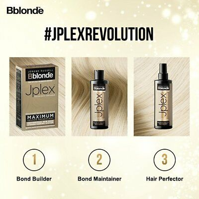 Jerome Russell Bblonde Jplex Bond Kit /Maintainer/Hair Perfector -Uk Seller