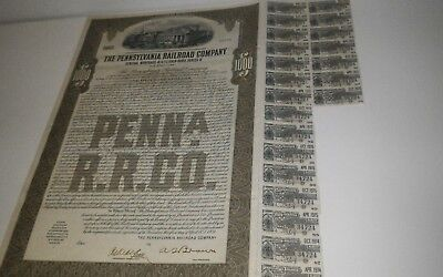 The Pa. Railroad Company Gold Bond