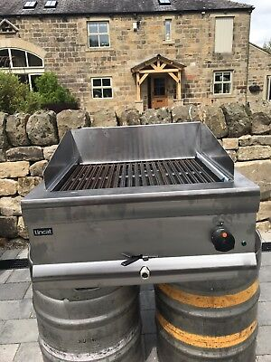 Never used Lincat Electric Chargrill 1 month old