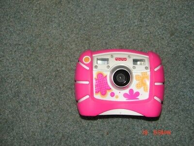 Fisher Price Kid Tough Pink Digitalcamera With Zoom