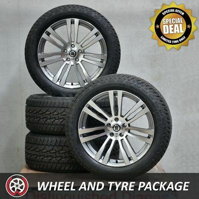 20 Inch M840 Wheels and NEW All Terrain Tyres 265/50R20 to fit VW Amarok
