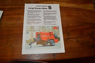 Massey Ferguson 5 Big Square Baler Brochure (2)