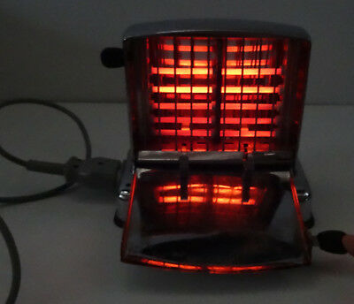 Kultiger Quellomat Toaster verchromt mit Bakelitgriffen - made in Germany ~50er