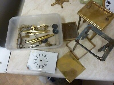 2 Part Carriage Clock Cases For Spares Or Repair