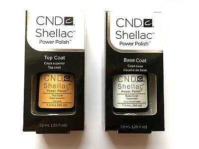 CND Shellac Set Base Top coat Made in USA Top Qualität
