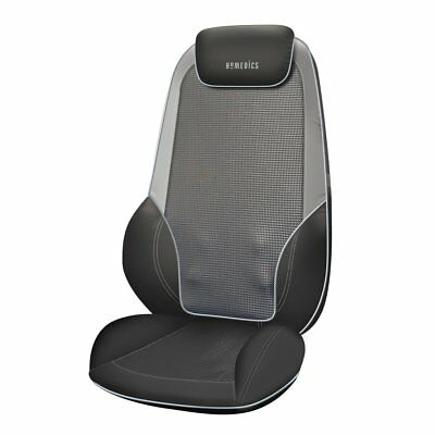 New HoMedics Shiatsu Pro Back & Shoulder Massager Chair with Heat-SMB1010HGB