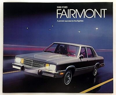 Car Auto Brochure 1980 Ford Fairmont 20 Pages