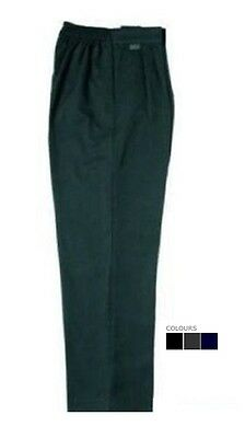 Boys Sturdy Fit School Uniform Trousers - Generous Fit. Ages 2 - 11 years UK