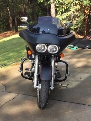 2011 Harley-Davidson Touring  2011 Harley Davidson Road Glide Custom Black Denim