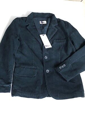 Boys Designer Green Fitted Cord Jacket Age10-11 ABC123me New With Tags RRP£95.00