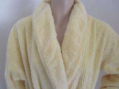 Vintage Thick CHENILLE DRESSING GOWN Robe As New Size M 12-14 Ladies