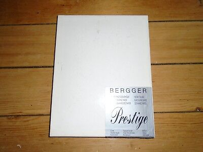 VINTAGE PHOTOGRAPHIC PAPER - BERGGER PRESTIGE B&W, 8x10, 50 SHEETS DOUBLE WEIGHT