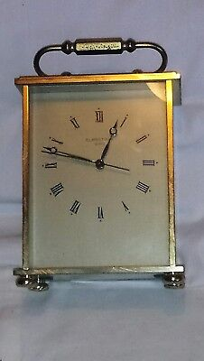 Antique/Vintage Brass Eurotime Carriage Clock Quartz