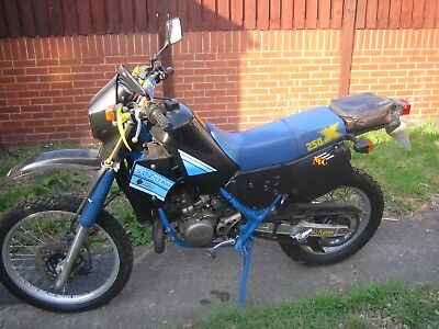 Suzuki TS250X Very Low miles. Great condition. Requires recommission