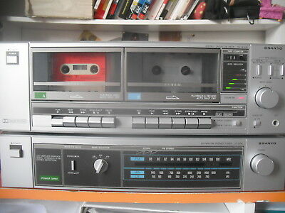 stereo cassette deck Sanyo RD W340