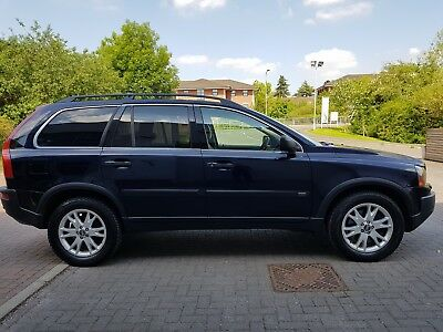 2005 Volvo Xc90 D5 Auto Diesel 7 Seater Sat Nav Dvd Tow Bar Look Nice Family Car