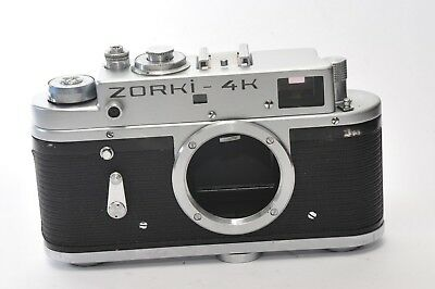 ZORKI 4K body, rangefinder camera  based on Leica, after CLA service,