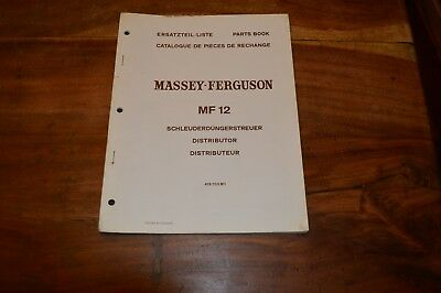 Massey Ferguson MF12 Distributer Parts Book (1)