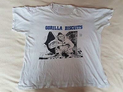 Gorilla Biscuits T-Shirt S-M CIV Youth Of Today SXE