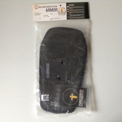 Roland Sands Design Back Armor 0800-D9H0-0003 - New in Sealed Factory Packaging