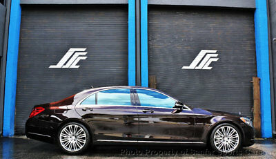 "Mercedes-Benz S-Class 4dr Sedan S 550 RWD 2015 Mercedes Benz S550 15K 1 OwnerMiles Distronic 20"" Wheels FinancingAvailable"