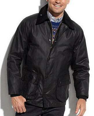 NWT $379 BARBOUR BEDALE Wax Cotton Jacket Waterproof Tartan Lined Coat 48 XL 2XL