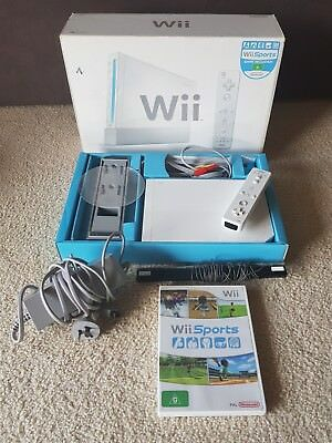 nintendo wii sports boxed consoles