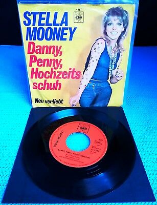 "Stella Mooney ‎- 'Danny, Penny, Hochzeitsschuh' / Single / 7"" / Germany / RARE"