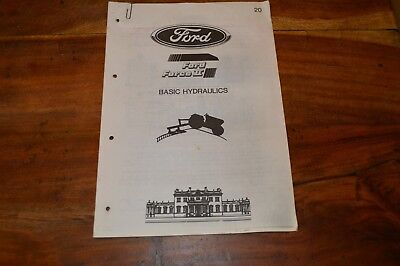 Ford Force 2 Basic Hydraulics Technicians Service Manual  (6)