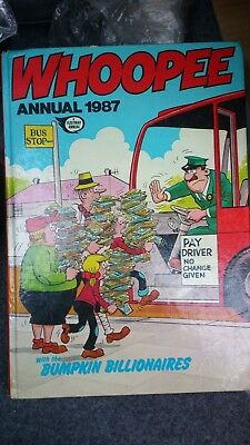 Whoopee Book Annual 1987 Collectors Comic Book