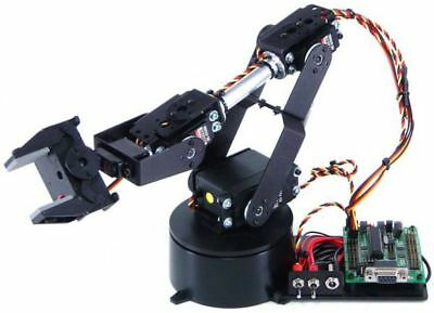 Lynxmotion AL5B 4 Degrees of Freedom Robotic Arm Combo Kit (BotBoarduino)
