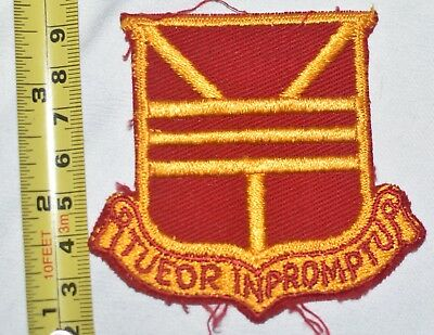 733RD MAINTENANCE BATTALION POCKET PATCH US ARMY TWILL 1950's