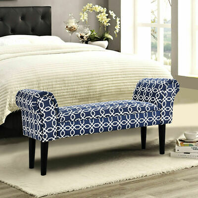 PicClick & PHOLSTERED ARMED BED Benches For Bedroom Entryway HallwayBed End Bench Chair