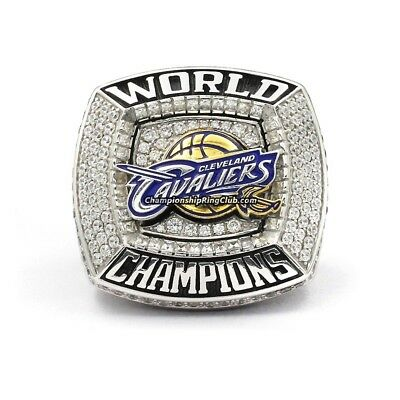 NBA Champions ring ( Cleveland Cavaliers)  , Massiv aus metall  ....lebron James