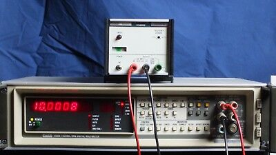 Good FLUKE 510A 10V 100KHz AC Reference Standard Calibrator TESTED for Accuracy