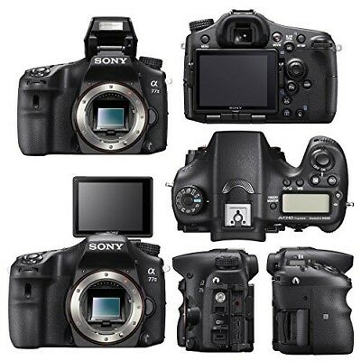 Sony Alpha a77 II 24.3MP Digital SLR Camera - Black (Body Only) *Japan Model*