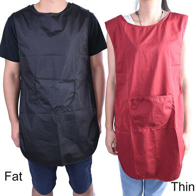 Salon Hairdressing Hair Cutting Apron Front-Back Cape for Barber Hairstylist  RH