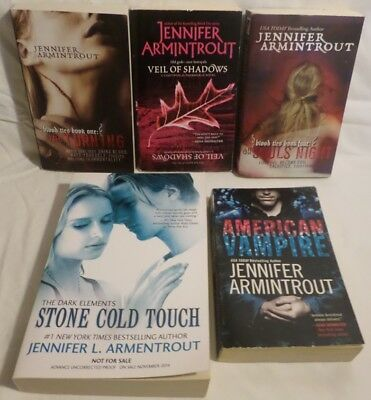 JENNIFER ARMINTROUT  BLOOD TIES VAMPIRE SERIES + DARK ELEMENTS ARC Proof