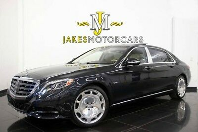 2016 Mercedes-Benz S-Class Maybach S600**RARE COLOR**EXECUTIVE REAR SEATING** 2016 MAYBACH S600~$203,820 MSRP!~EXEC REAR SEAT PKG~REFRIGERATOR~ONLY 3100 MILES