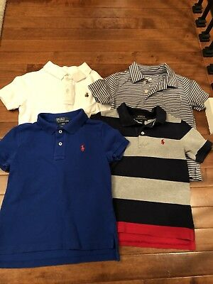 Toddler Boy Polo Lot 3T - 4pc