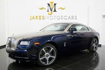 2014 Rolls-Royce Wraith ($359,425 MSRP!)...ONLY 6200 MILES! ROLLS ROYCE WRAITH, $359,425 MSRP! SPECIAL ORDERED CAR, ONLY 6200 MILES! LOADED!