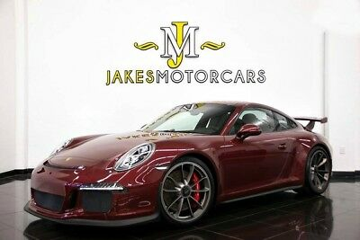 2015 Porsche 911 GT3...SPECIAL ORDERED...PAINT TO SAMPLE 2015 PORSCHE 911 GT3~SPECIAL ORDERED PAINT TO SAMPLE~ ONLY 3800 MILES~FRONT LIFT