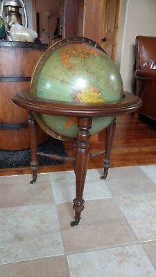 "Antique 16"" Floor Replogle Globe"