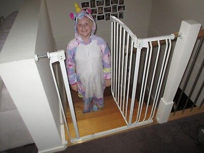 Extra Tall Dreambaby Stair Gate with extension