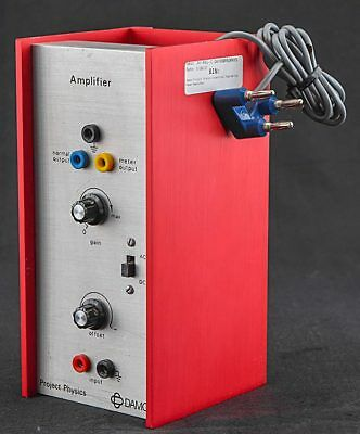 Damon Project Physics Industrial Engineering Power Amplifier